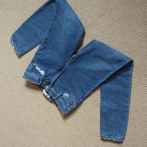 Zara Trafaluc high wais jeans size 8
